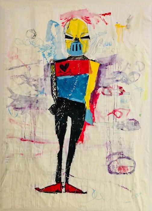 VIEW - Peinture acrylique | Claude Billès | MRIART Gallery