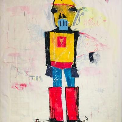 WOW - Peinture acrylique | Claude Billès | MRIART Gallery