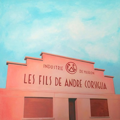 Corsiglia - Peinture Acrylique | Sylvie Rose M Nicolas | MRIART Gallery