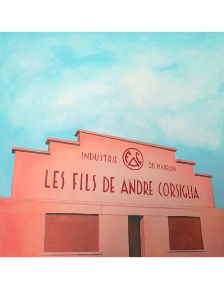 Corsiglia - Peinture Acrylique   Sylvie Rose M Nicolas   MRIART Gallery