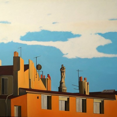 du Vieux Port 1 - Peinture Acrylique | Sylvie Rose M Nicolas | MRIART Gallery