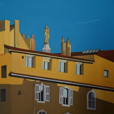 du Vieux Port  3 - Peinture Acrylique | Sylvie Rose M Nicolas | MRIART Gallery
