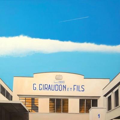 Giraudon - Peinture Acrylique | Sylvie Rose M Nicolas | MRIART Gallery