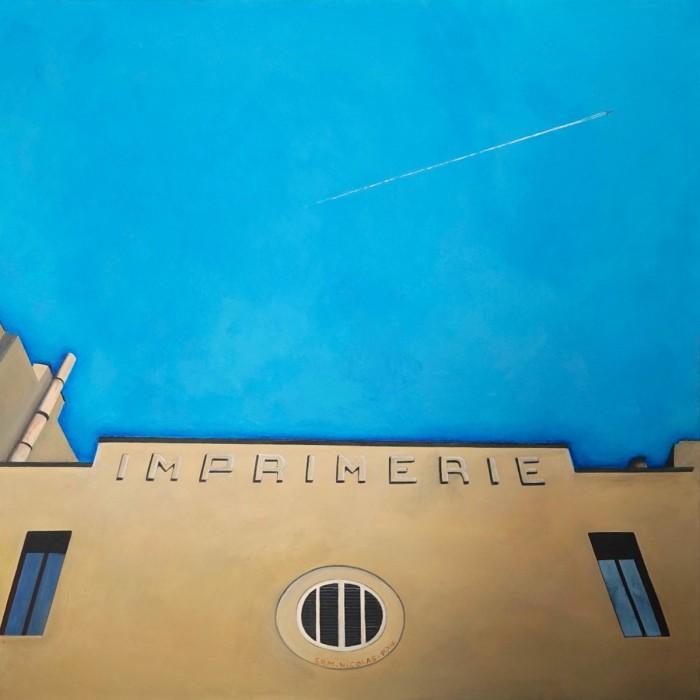 Imprimerie - Peinture Acrylique | Sylvie Rose M Nicolas | MRIART Gallery