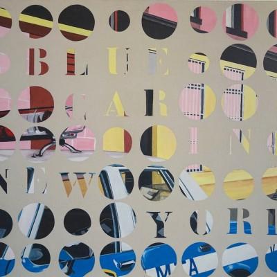 Blue Car - Peinture Acrylique | Sylvie Rose M Nicolas | MRIART Gallery