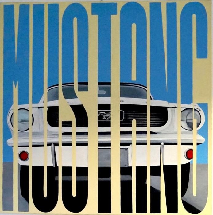 Mustang - Peinture Acrylique | Sylvie Rose M Nicolas | MRIART Gallery