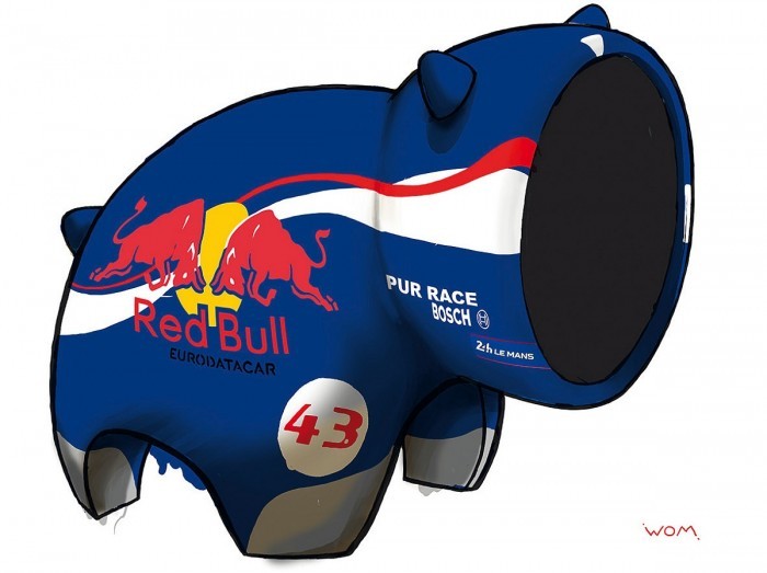 Red Bull - Digigraphie | Cyril Anguelidis | MRIART Gallery
