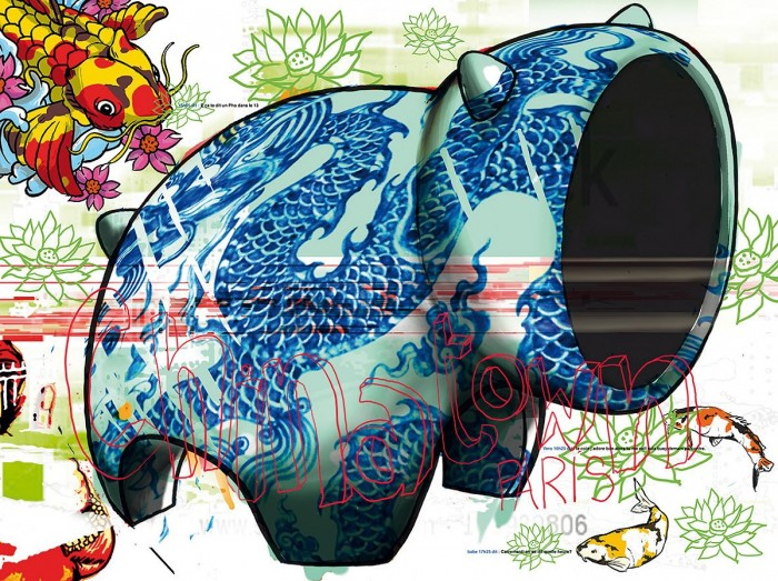 Asia Day's - Digigraphie | Cyril Anguelidis | MRIART Gallery