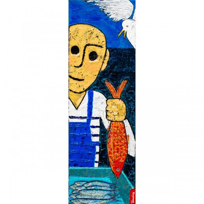 Pescadou vs Gabian - Peinture Acrylique | Rouska | MRIART Gallery
