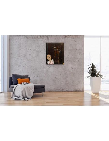 Mise en situation : A la Vieille Charité - Peinture Acrylique | Rouska | MRIART Gallery