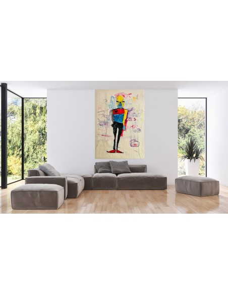 Mise en situation : VIEW - Peinture acrylique | Claude Billès | MRIART Gallery