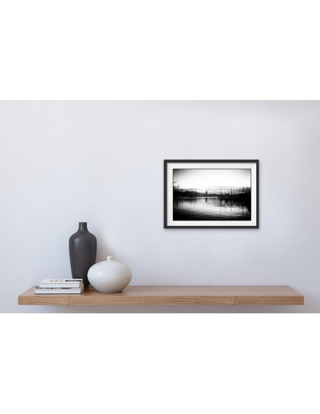 Mise en situation : Pas réveillé - Photographie de Chris Boyer | MRIART Gallery