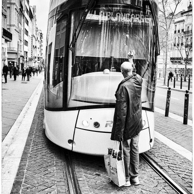 Fuck le Tramway - Photographie de Chris Boyer | MRIART Gallery