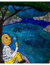 Dandelion - Peinture Acrylique | Rouska | MRIART Gallery
