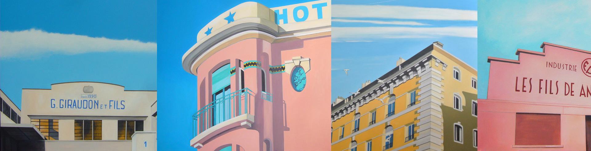 Série Happy Buildings Marseille -