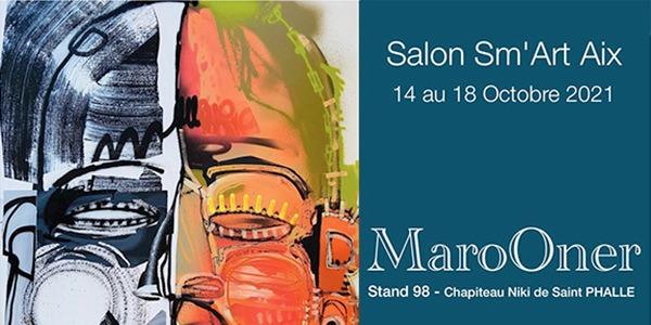 MaroOner et MRIart Gallery au Sm'art Aix