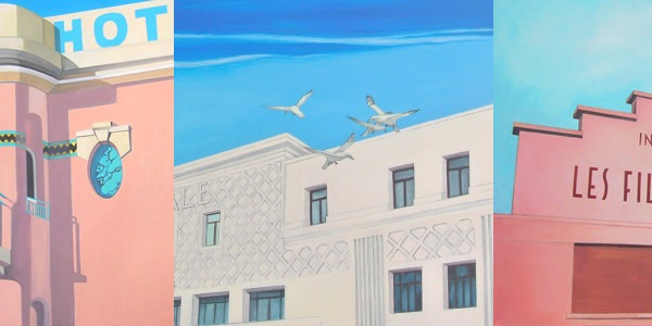La peintre des buildings disparus | Sylvie Rose M Nicolas